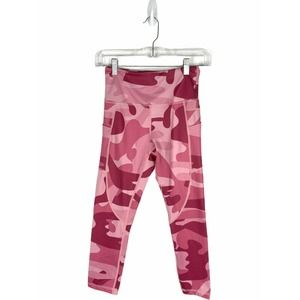 Zyia Active Pink Camo Pocket Light n Tight